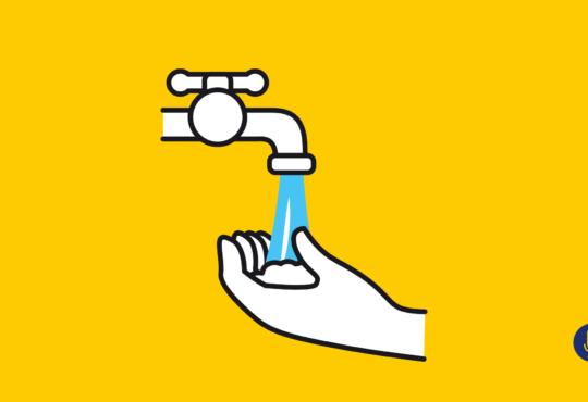 Así es el lavado de manos en Villa Caracas