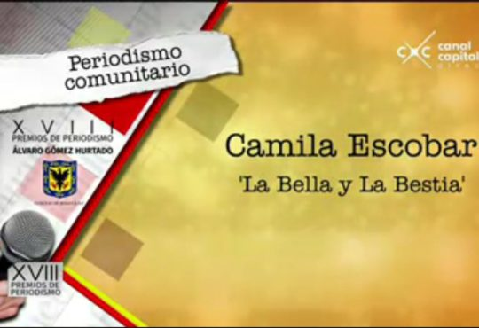 «La Bella y la Bestia» recibe Premio de Periodismo