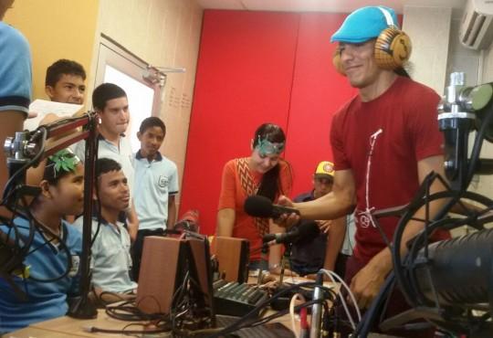 Disoñando la Radio desde la escuela y el barrio