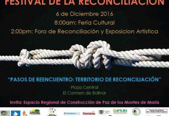 Festival de la reconciliación en Montes de María