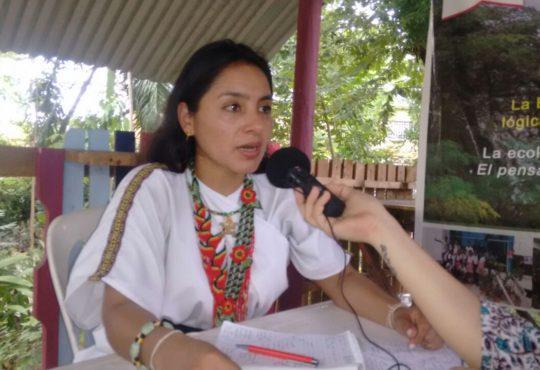 A reforestar nuestra conciencia: Ati Quigua