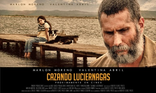 "Afiche oficial ""Cazando Luciérnagas"""