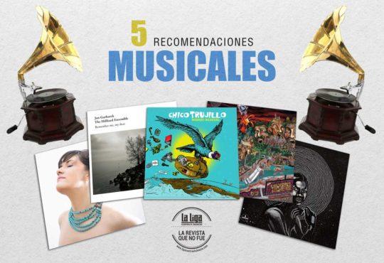 Cinco recomendados musicales
