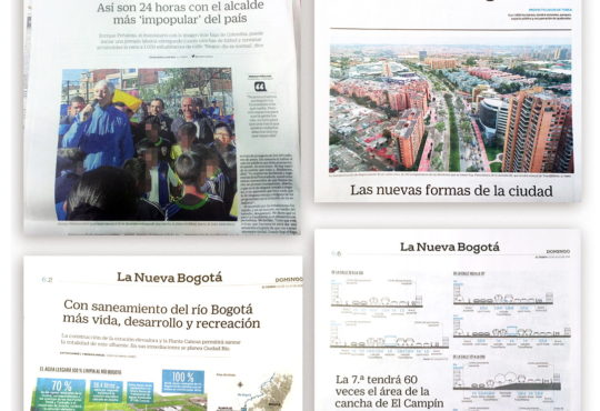 La Alcaldía de Bogotá compra buenas noticias