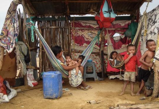 La migración wayuu aumenta la presión en La Guajira