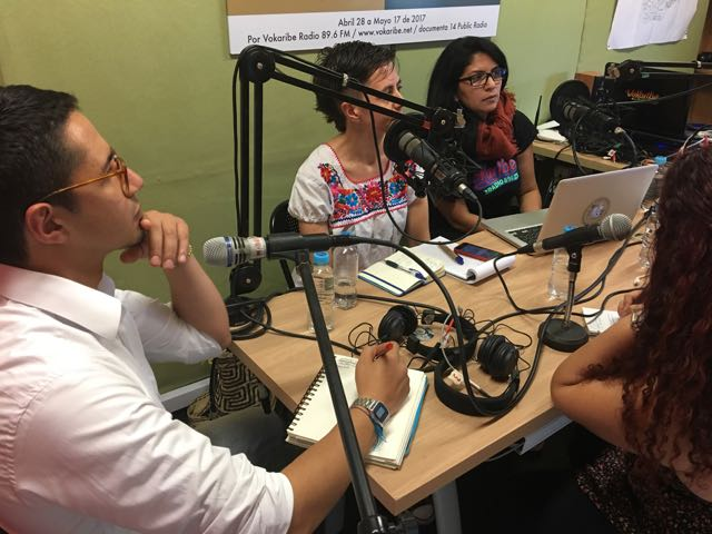 José Antequera, Belén Pardo y Patricia Rendón