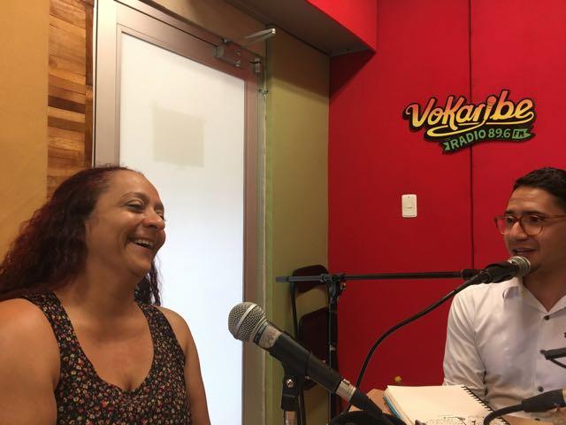 Yomira Espinosa y José Antequera