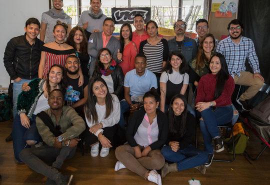 18 jóvenes líderes dieron vida a CANDIDATER