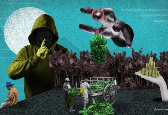 Campesinos de Zona Bananera en la mira por reclamar tierras