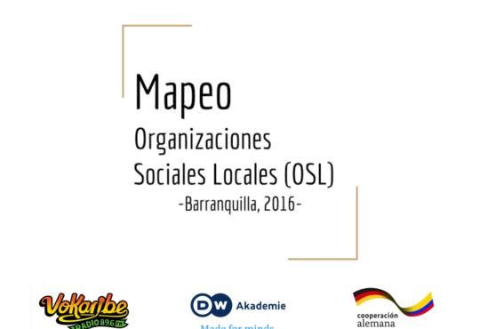 Mapeo de Organizaciones Sociales