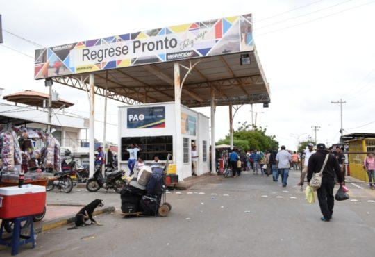 Una mirada a 'La raya', el paso obligado para miles de migrantes venezolanos