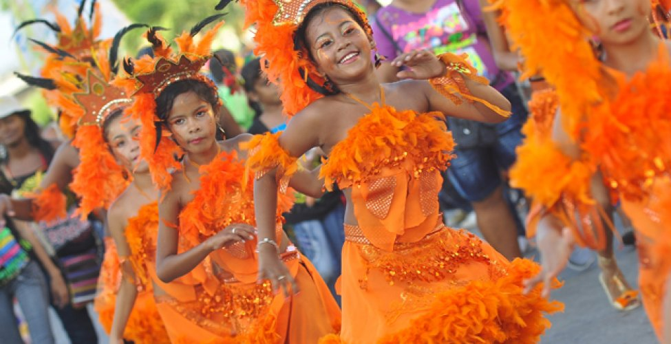 Comparsa Rumberitos de San Roque | Foto: Archivo Carnaval del Suroccidente 2013