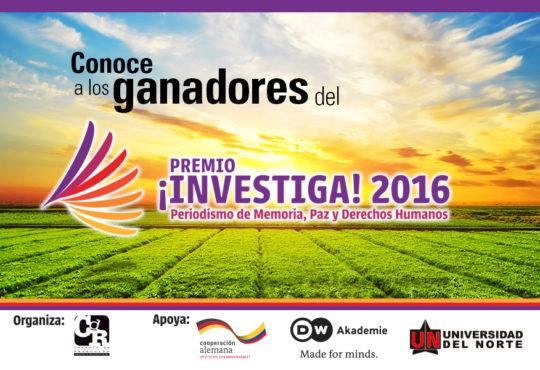 ¡Investiga! 2016