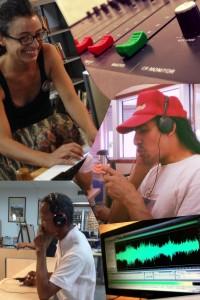 Taller Paisajes Sonoros | En Clave de Radio | Collage: Eliana Torregroza